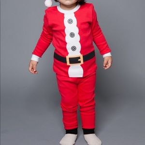 Kids Santa pajama set - HP🎉🎉 1 left!